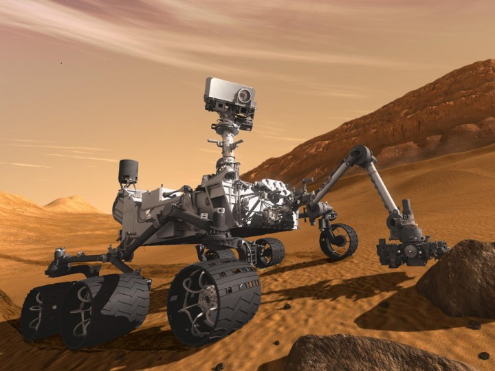 Curiosity. (Izvor: NASA)
