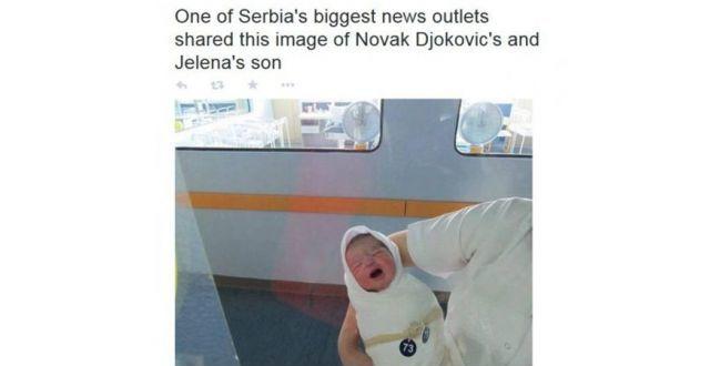 Lažna slika Noletove bebe zapalila internet