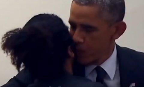 Ljubomorni muškarac Obami: Gos'n predsedniče, ne diraj mi devojku