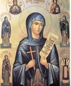 Sveta prepodobna mati Paraskeva – Sveta Petka