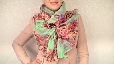 (VIDEO) Kako nositi jednu maramu na 15 načina?