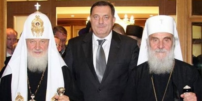 Ruski patrijarh prihvatio da posjeti RS