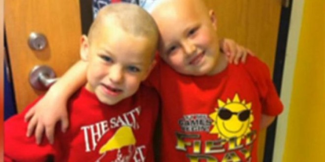 To je prijateljstvo: Dječak obrijao svoju glavu zbog druga koji je obolio od leukemije