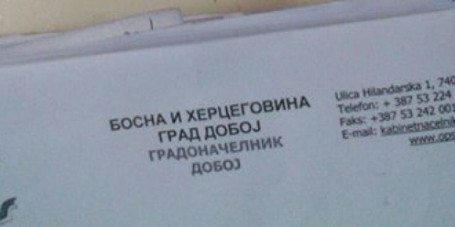 DOBOJ: Kome smeta Republika Srpska i zastava Republike Srpske