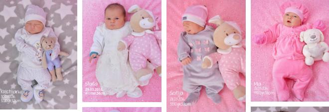 UKC RS: Besplatna prva fotografija bebe