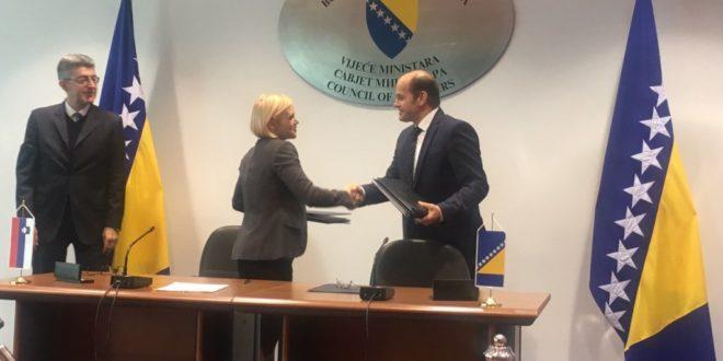 Potpisan sporazum o zapošljavanju bh. državljana u Sloveniji
