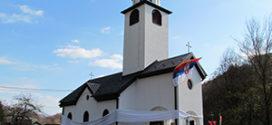 Osveštana crkva u Krivaji