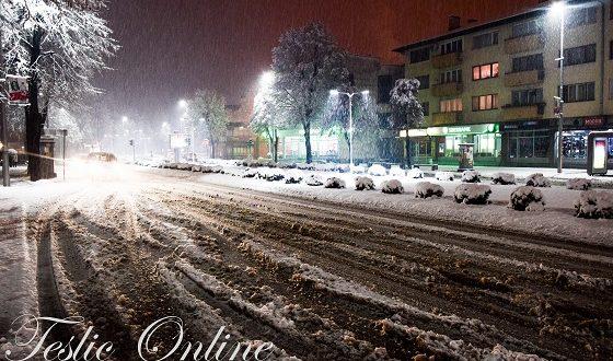 Večeras zahlađenje, sutra snijeg