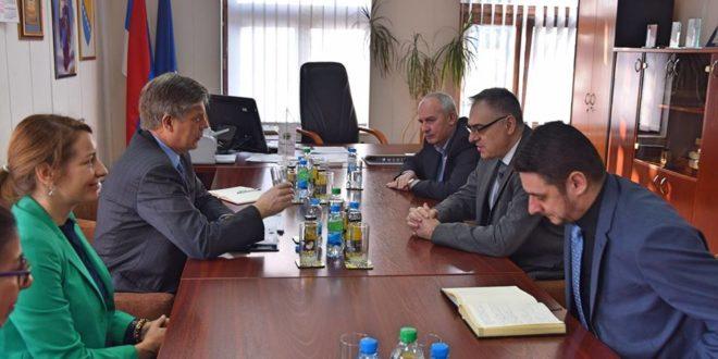 Miličević i Vigemark razgovarali o aktuelnim političkim problemima