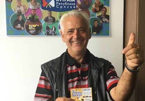 Пензионер из Теслића освојио главну премију од 50.000 КМ