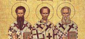 Slavimo Sveta tri jerarha